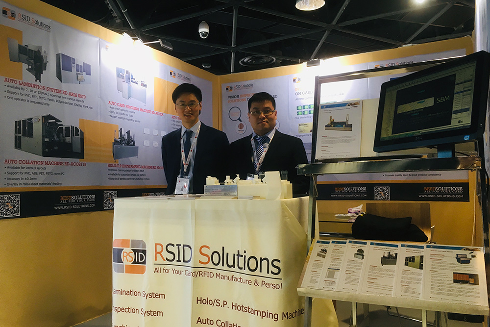 RSID Solutions at TRUSTECH 2018, CANNES, FR.